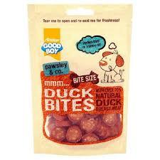 Armitage Duck Bites Dog Treats With Natural Duck Breast Meat 1pack