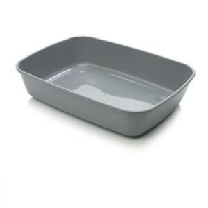 Cat Litter Tray Speckled Grey 50cm