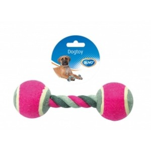 Duvo Dog Toy  Tug Toy Knotted Cotton Ten 1pc
