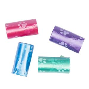 Duvo Dog Waste Bags Paws 311339 4x20cm