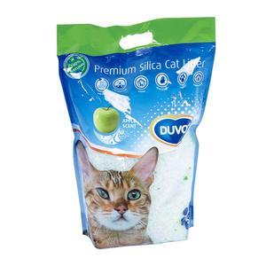 Duvo Cat Litter Premium Silica Apple 5L