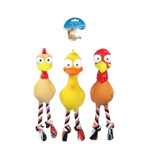 Duvo Dog Toy Latex Poultry 1pc