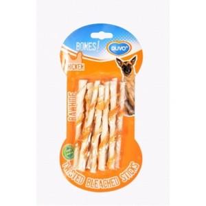 Duvo Bones Twisted Chicken Sticks 10Pcs 10pcs