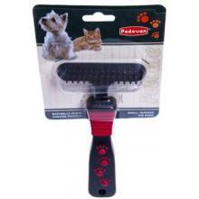 Padovan Pet Tapered Pin Rake Brush Large 1pc
