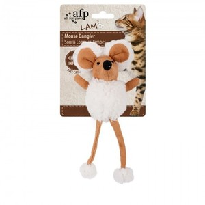 All for Paws Lambswool Cuddle Door Knob Dangler Tan 1pc