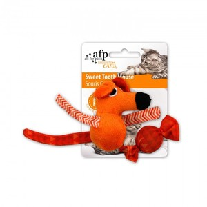 All for Paws Sweet Tooth Mouse Orange 1pc