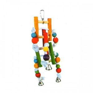 Pado Ladder Type For Big Birds With Bells 1pc