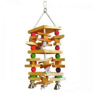 Pado Hanging Toy For Large Birds With Bells 1pc