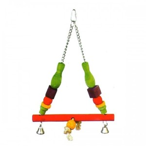 Pado Triangle Type Swing Toy For Large Birds 1pc