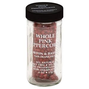 Morton Whole Pink Peppercorns .6oz