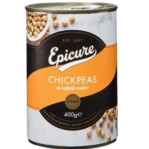 Epicure Chick Peas 400g