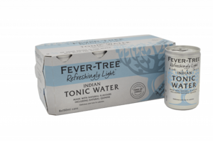 Fever Tree Tonic Water Light Indian 8x150ml