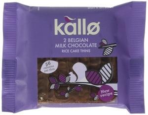 Kallo Rice Cake Milk Choco 22.5g