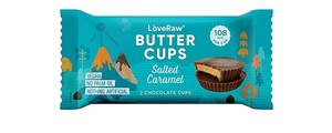 Love Raw Vegan Butter Cups Salted Caramel 34g