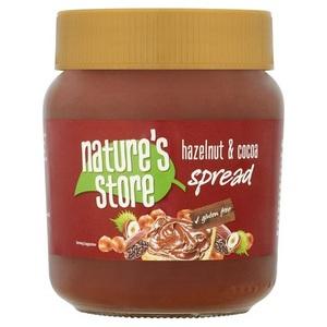 Nature's Store Spread Hazelnut & Cocoa Gluten Free 350g