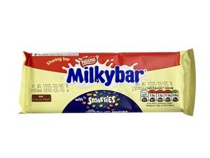 Nestle Milkybar Smarties Block 100g