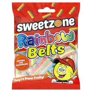 Sweetzone Rainbow Belts 90g