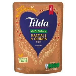 Tilda Rice Steam Basmati & Quinoa 250g