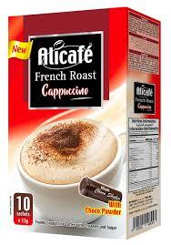 Alicafe Cappuccino French Roast 10x13g