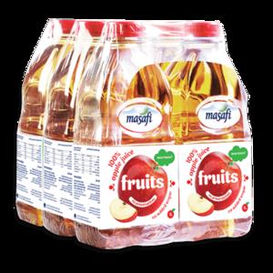 Masafi Apple Fruit Juice Juice Shrink Wrap 6x1L