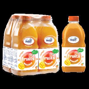 Masafi Mango Fruit Juice Shrink Wrap 6x1L