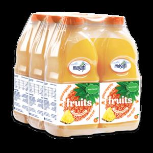 Masafi Pineapple Fruit Juice Shrink Wrap 6x1L
