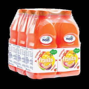 Masafi Tropical Fruit Juice Shrink Wrap Promo Pack 6x1L