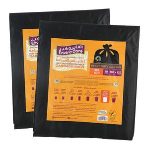 Enviro Black Garbage Bags 105x125cm - 2s