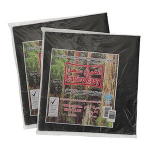 Enviro Black Garbage Bags 80x110cm - 2s