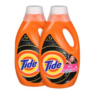 Tide Detergent Liquid Abaya 2x1.85L