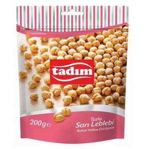 Salted Yellow Chickpeas 200g