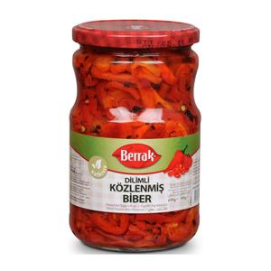 Roasted Pepper Sliced (Kozlenmis Biber Serit) 690g