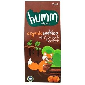 Organic Cookies With Carob And Hazelnut 55g