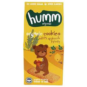 Organic Cookies With Quinoa & Honey 55g
