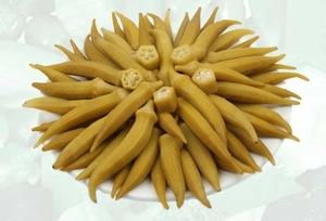 Zavrak Okra Pickle (Bamya Tursu) 1000g