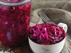 Zavrak Red Cabbage Pickle (Lahana Tursu Kirmizi) 1000g