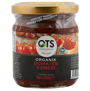 Organic Dried Tomato Paste (Organik Kuru Domates Ezmesi) 200g