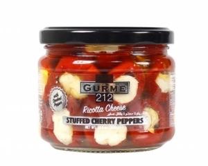 Ricotta Cheese Stuffed Cherry Peppers (Peynir Dolgulu Kiraz Biber) 300g