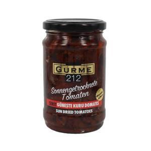 Sun Dried Tomatoes in Oil Strips (Guneste Kurutulmus Domates Yagda Marine serit Kesim) 300g