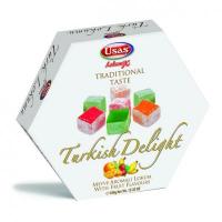 Usas Fruit Flavored Turkish Delight (Meyve Aromali Kus Lokumu) 170g