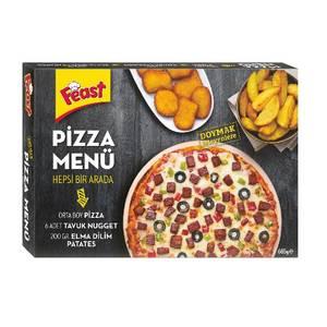 Pizza Menu (Nugget French Fries Pizza Menu) 685g