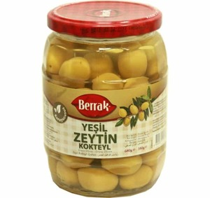 Cocktail Green Olives (Kokteyl Yesil Zeytin) 680g