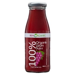 Organic Grape Juice (Organik uzum Suyu) 250ml