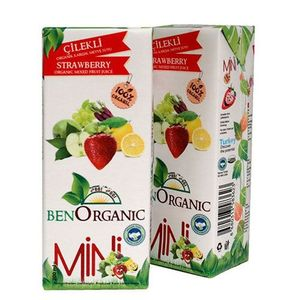 Mini Organic Mixed Fruit Vegetable With Strawberry 200ml