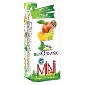 Mini Organic Mixed Fruit Juice With Peach 200ml
