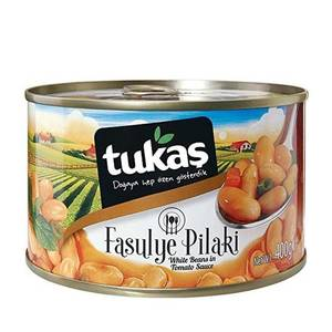 Canned White Beans in Tomato Sauce (Konserve Fasulye Pilaki) 400g