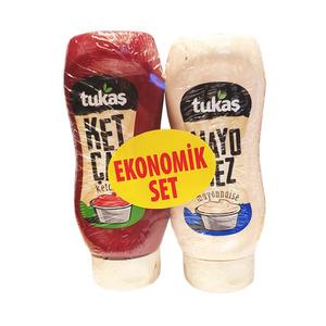 Ketchup & Mayonnaise Economic Pack (Ketcap & Mayonez Ekonomik Paket) 335gX2