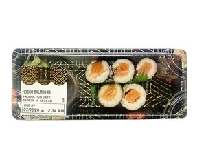 Bluefin Sushi Hoso Maki Salmon Assorted 6s