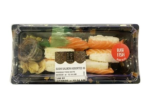 Bluefin Sushi Salmon Assorted 6s