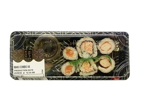 Bluefin Sushi Maki Combo In a Box 6s